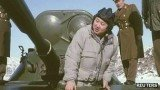 The footage shows Kim Jong-Un in his new role as supreme military commander - inspecting troops, saluting and sitting in a tank