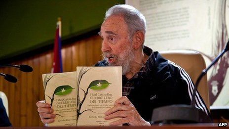 """Guerrilla of Time"" is almost 1,000 pages long and relates Fidel castro's childhood and rise to power in the Cuban Revolution"