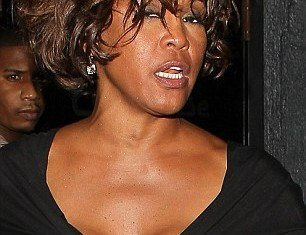 "A music insider claimed that Whitney Houston was flat broke and had been living off advances from her record label for ""quite some time"""