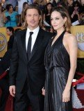"""A source told OK! magazine that Angelina Jolie and Brad Pitt were """"thrilled"""" at how"""