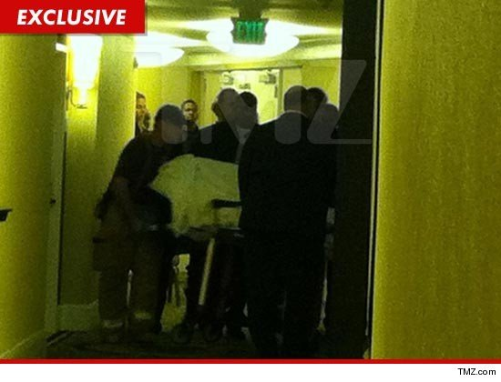 According to TMZ website, it's possible Whitney Houston drowned in the bathtub in the Beverly Hilton hotel room