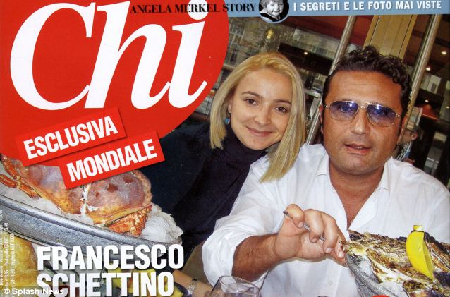 Although Domnica Cemortan says Francesco Schettino barely noticed her at first it is clear from a photograph taken of them in a restaurant on the Cote d'Azur on December 13 which was published in Italian magazine Chi that she  photo