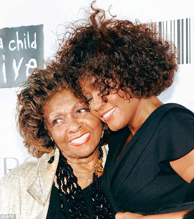 "At least twice in 1999 and 2005 Cissy Houston grew so desperate of Whitney's drug addiction she staged legal ""interventions"" forcing her to complete a recovery programme photo"