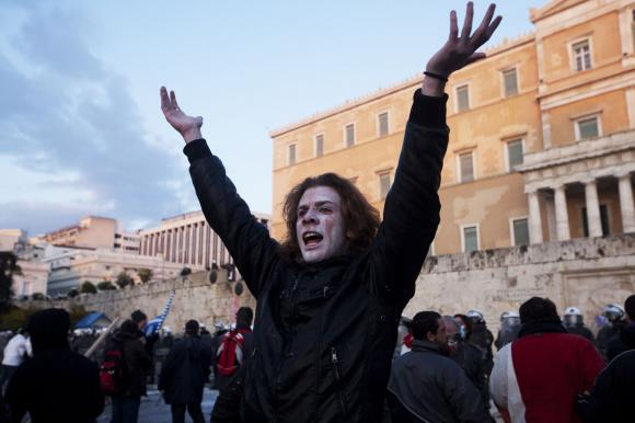 Austerity measures have prompted mass demonstrations in Greece photo