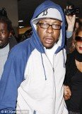 Bobby Brown arrived at LAX last night to take care of daughter Bobbi Kristina after Whitney Houston's death