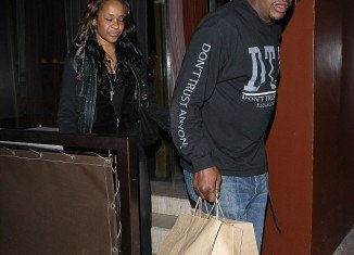 "Bobby Brown (pictured with daughter Bobbi Kristina) has been told he is ""not welcome"" at Whitney Houston's funeral by several members of her family"
