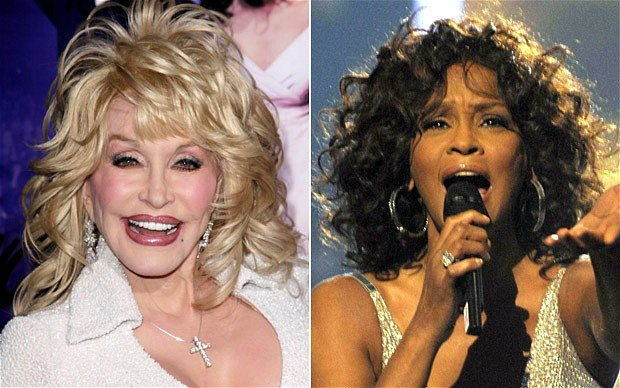 Dolly Parton who originally wrote and recorded the biggest hit I Will Always Love You is set to earn millions of dollars since the Whitney Houston's death photo