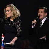 Double awarded Adele was at the centre of controversy at Brit Awards after one of her acceptance speeches was cut short and she made a rude gesture