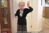 "In Whitney Houston's honor, the 90-year-old granny Jeanne, who suffers from severe macular degeneration, dances her heart out to the late singer's hit song ""I wanna dance with somebody"""