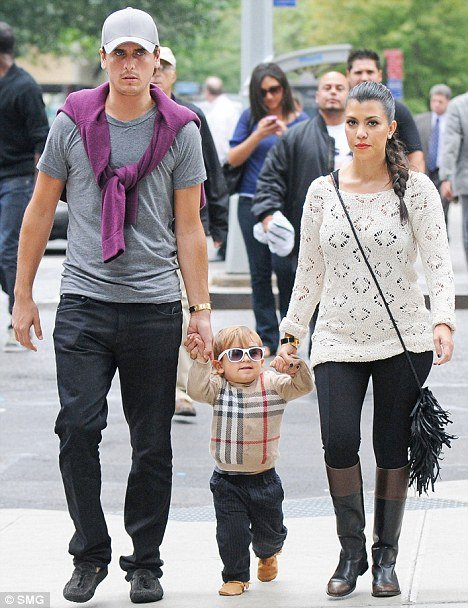 Kourtney Kardashian, who already has a two-year-old son Mason, says she and boyfriend Scott Disick feel blessed to have a baby girl