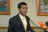Maldives President Mohamed Nasheed has stepped down after weeks of demonstrations and a mutiny by some police officers