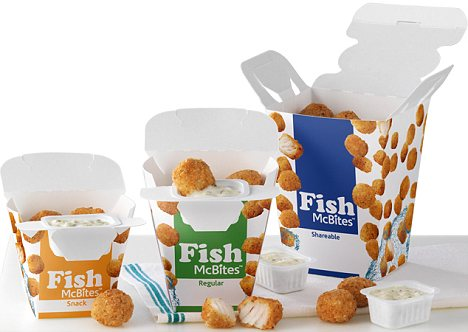 McDonald's is prepared to target a more pious crowd for the season of Lent with its latest innovation - Fish McBites