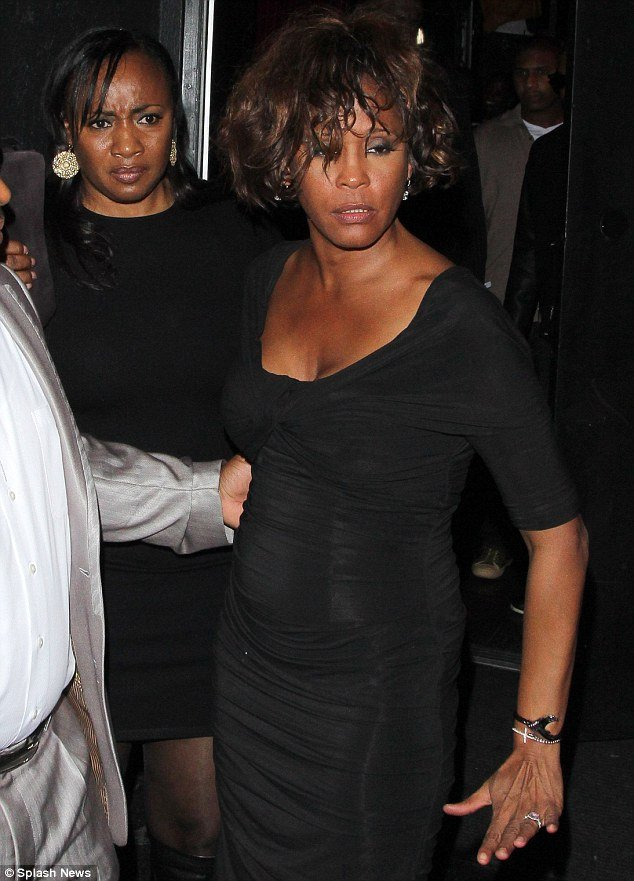 """New claims have suggested Whitney Houston was seen """"drinking considerably"""" for at least two mornings in the week before her death on Saturday"""