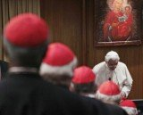On Friday, cardinals new and old attended a closed-door meeting pondering how to bring back faith in increasingly secular countries