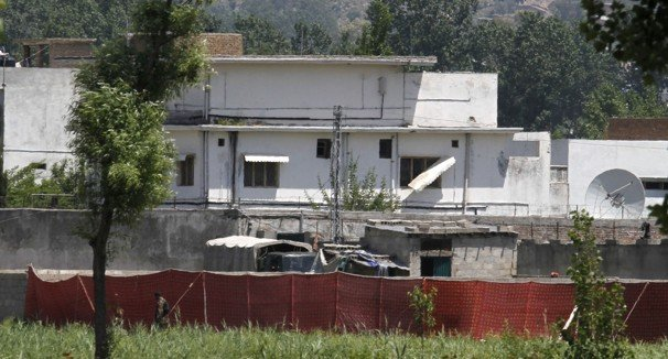 Osama Bin Laden's compound in the Pakistani city of Abbottabad where US forces killed him is being demolished photo
