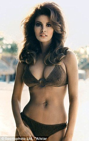 Raquel Welch became a sex symbol after she emerged from the sea in a furry bikini as Loana in the 1966 film Hammer film One Million Years B.C.