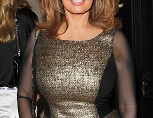 Raquel Welch is still time-haltingly beautiful forty-six years after she emerged from the sea in mankind's first bikini