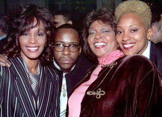 Robyn Crawford (right) and Whitney Houston had denied a gay relationship since 1987
