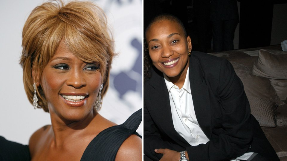 Robyn Crawford (right) talked about her relationship with Whitney Houston, but she only discusses their professional entanglements, not the personal ones