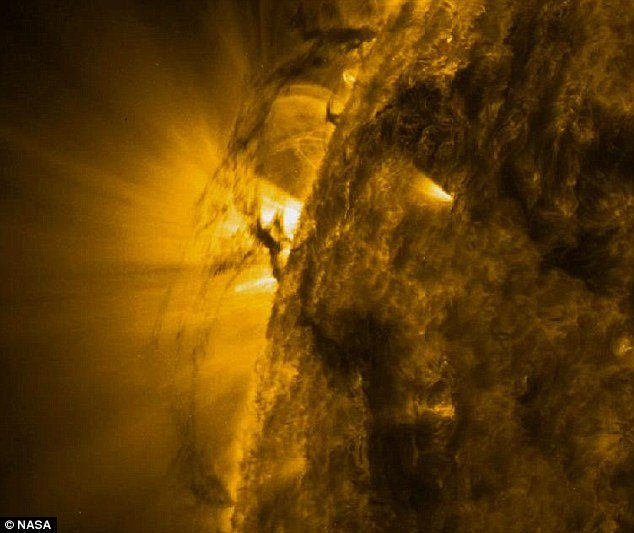 Solar Dynamics Observatory, a NASA satellite, captured amazing pictures of a gigantic tornado moving across the sun