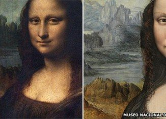 "The Art Newspaper said the removal of the black paint on the replica had revealed ""the fine details of the delicate Tuscan landscape"", which mirrors the background of Leonardo's masterpiece"