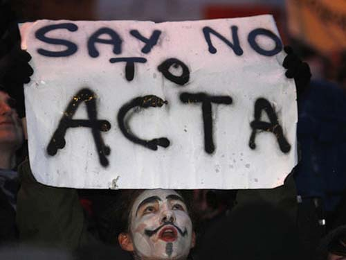 The EUs highest court has been asked to rule on the legality of ACTA photo