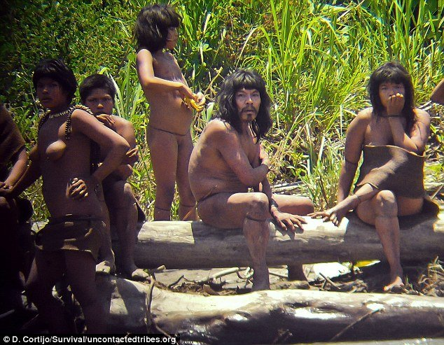 The Mashco-Piro is one of around just 100 known uncontacted tribes and its members live a traditional life in the Peruvian forests and have little or no outside contact with the world
