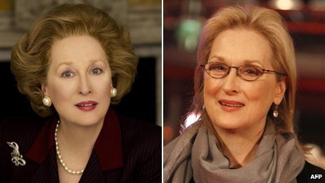 The men behind the Meryl Streep's transformation into Margaret Thatcher in The Iron Lady are about to find out if they have won an Oscar tonight
