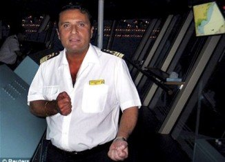 Toxicology tests revealed that traces of cocaine have been found on a hair sample taken from Francesco Schettino, the shamed captain of the capsized Costa Concordia cruise ship