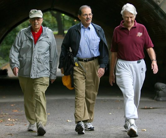 US researchers found that the speed of someone's walking may predict the likelihood of developing dementia later in life