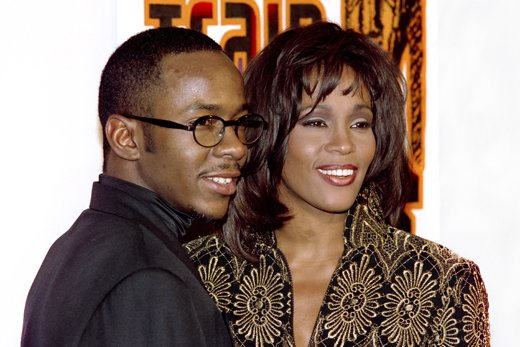Whitney Houston and Bobby Brown had a notoriously turbulent relationship that was riddled with drug use and marital problems photo