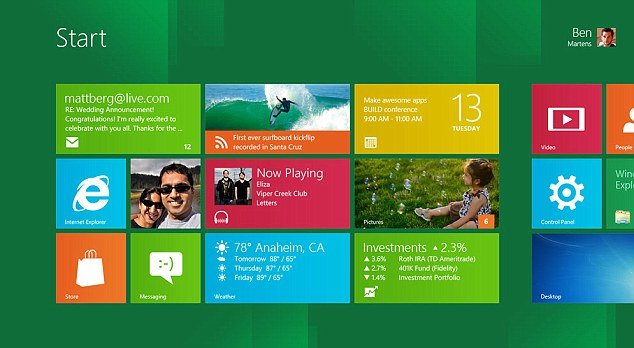 Windows 8 will come in two variations, one that works on desktops and laptops, and a new version for the ARM microprocessors in tablets, smartphones and other portable devices
