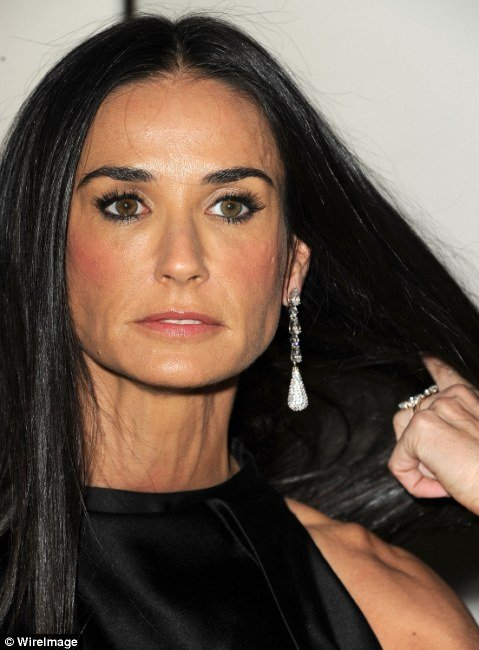 After a marriage breakdown severe weight loss and drug related collapse Demi Moore has been looking less than her best photo