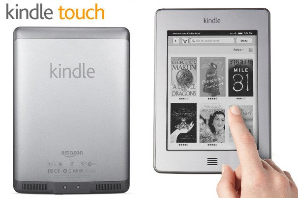Amazon has announced the launch of Kindle Touch its touchscreen version of iKindle e reader in the UK Germany France Spain and Italy photo