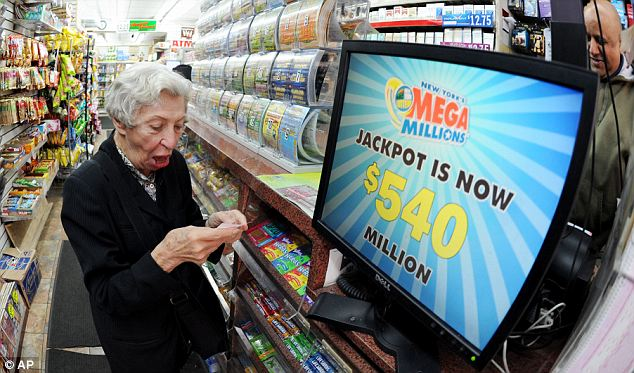 An official from the Maryland lottery announced that a winning Mega Millions ticket had been bought in Baltimore County