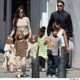 Angelina Jolie and Brad Pitt's children are very unruly, say family insiders, who are also worried about the kids' health and hygiene
