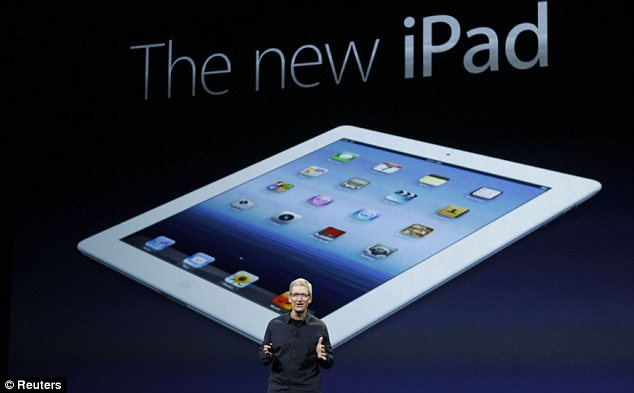 Apple has unveiled its latest version of iPad, armed with a Full HD display with 3.1 million pixels and a supercharged new processor
