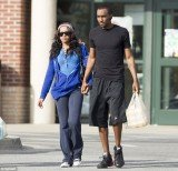 Bobbi Kristina Brown and Nick Gordon held hands as they stepped out to visit a supermarket in Atlanta