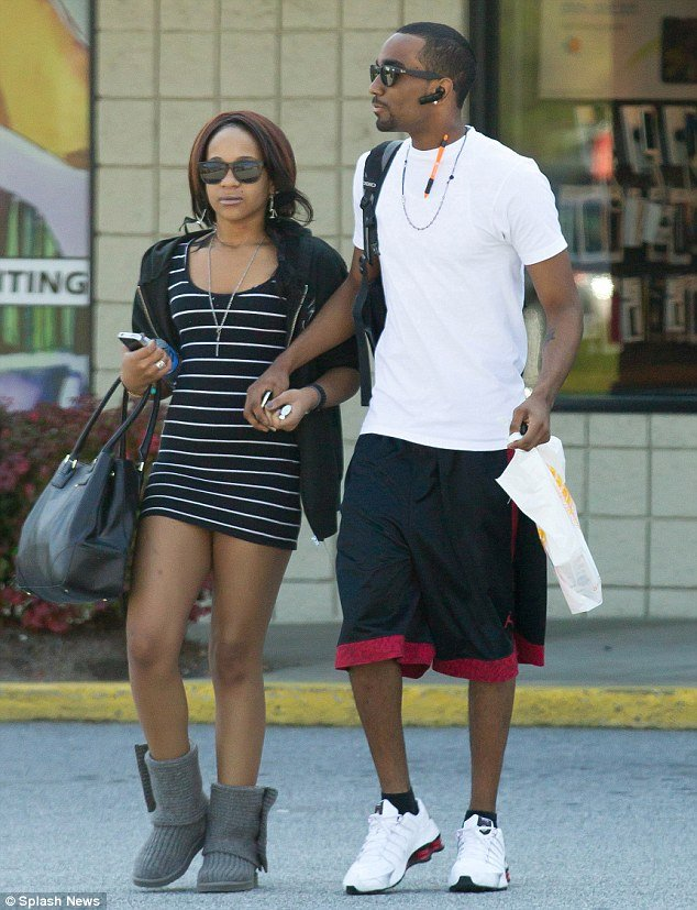 "Bobbi Kristina Brown and her rumored fiancé and ""adoptive brother"" Nick Gordon stepped out hand-in-hand over the weekend"