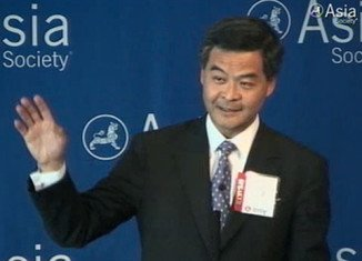 CY Leung is the newly elected leader of Hong Kong after an unusually turbulent campaign