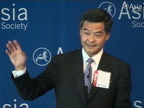 CY Leung is the newly elected leader of Hong Kong after an unusually turbulent campaign photo