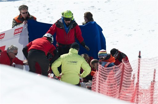 Canadian skier Nick Zoricic has died following a horrific crash in a skicross race at World Cup in Switzerland