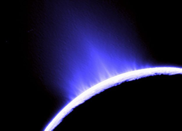 Cassini probe will make today its lowest pass yet over the south pole of Enceladus, an active moon of Saturn which may harbor a liquid water ocean