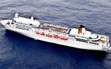 Costa Allegra, the stricken Italian cruise ship has docked in the Indian Ocean islands of the Seychelles