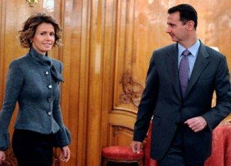 EU foreign ministers are set to impose a travel ban and asset freeze on Syria First Lady Asma al-Assad