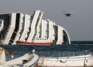 Five more bodies have been found on the capsized cruise ship Costa Concordia
