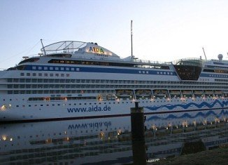 Francesco Schettino manoeuvred at a high speed during entry into the port of Warnemunde, Germany, causing damage to the Aida Blu cruise ship in June 2010