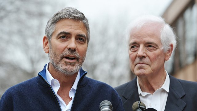 George Clooney was detained alongside his father, Nick , but both have now been released after paying bail of $100