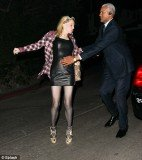 In January 2012, Courtney Love was snapped stumbling out of a Golden Globes party in West Hollywood, California