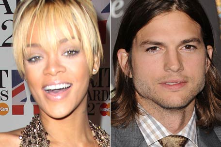 It was revealed that Rihanna has enjoyed an eight week fling with Ashton Kutcher